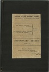Defendants' Record, Volume II: The Wright Company vs. The Herring-Curtiss Company and Glen H. Curtiss