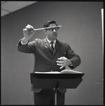 Dr. William Fenton conducting