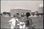 Wright State University versus Wilburforce University soccer game