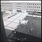 Aerial of Quad by The Center for Teaching and Learning