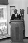C.J. McLin dedicating the Bolinga Black Cultural Resources Center