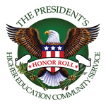 President's Higher Education Community Service Honor Roll Logo
