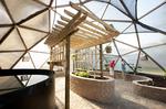 Mini University's Geodesic Greenhouse