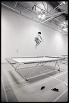Trampoline in Physical Education Building