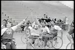 First Wheelchair Basketball Team
