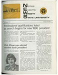 WSU NEWS July-August, 1972 by Office of Communications, Wright State University