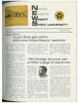 WSU NEWS November, 1972 by Office of Communications, Wright State University