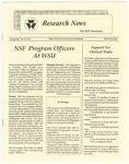WSU Research News, Spring 1991