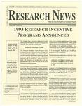 WSU Research News, Winter 1993