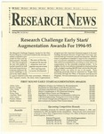 WSU Research News, Spring 1994