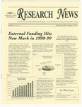 WSU Research News, Fall 1999 by Office of Research and Sponsored Programs, Wright State University