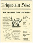 WSU Research News, Fall 2001 by Office of Research and Sponsored Programs, Wright State University