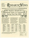 WSU Research News, Fall 2005 by Office of Research and Sponsored Programs, Wright State University