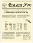 WSU Research News, Fall 2006 by Office of Research and Sponsored Programs, Wright State University