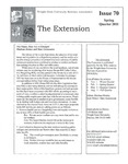 The Extension Newsletter, Issue 70, Spring Quarter 2011 by Wright State University Retirees Association
