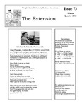 The Extension Newsletter, Issue 73, Winter Quarter 2012 by Wright State University Retirees Association