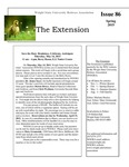 The Extension Newsletter, Issue 86, Spring 2015 by Wright State University Retirees Association