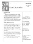The Extension Newsletter, Issue 64, Fall Quarter 2009