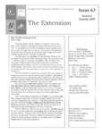 The Extension Newsletter, Issue 63, Summer Quarter 2009
