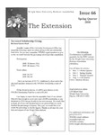 The Extension Newsletter, Issue 66, Spring Quarter 2010