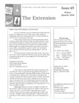 The Extension Newsletter, Issue 65, Winter Quarter 2010 by Wright State University Retirees Association