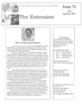 The Extension Newsletter, Issue 72, Fall Quarter 2011 by Wright State University Retirees Association