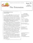 The Extension Newsletter, Issue 79, Summer Quarter 2013