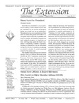 The Extension Newsletter, Issue 11, Summer Quarter 1996 by Wright State University Retirees Association