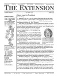 The Extension Newsletter, Issue 24, Fall Quarter 1999 by Wright State University Retirees Association