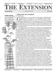 The Extension Newsletter, Issue 26, Spring Quarter 2000 by Wright State University Retirees Association