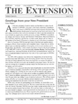 The Extension Newsletter, Issue 32, Fall Quarter 2001