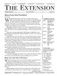 The Extension Newsletter, Issue 36, Fall Quarter 2002 by Wright State University Retirees Association