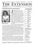 The Extension Newsletter, Issue 37, Winter Quarter 2002