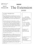 The Extension Newsletter, Issue 52, Fall Quarter 2006
