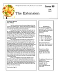 The Extension Newsletter, Issue 88, Fall 2015 by Wright State University Retirees Association