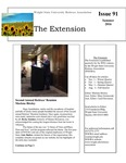The Extension Newsletter, Issue 91, Summer 2016