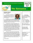 The Extension Newsletter, Issue 94, Spring 2017 by Wright State University Retirees Association