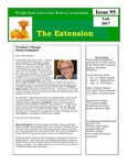 The Extension Newsletter, Issue 95, Fall 2017 by Wright State University Retirees Association